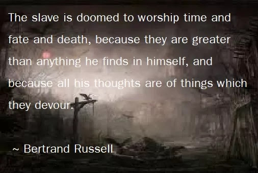 bertrand russell quotes on death