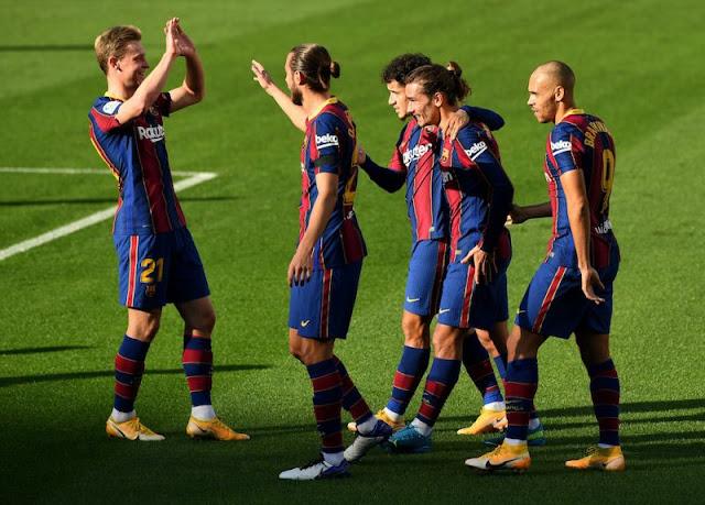 تشكيلة برشلونة الرسمية لمواجهة فالنسيا اليوم في الدوري الاسباني