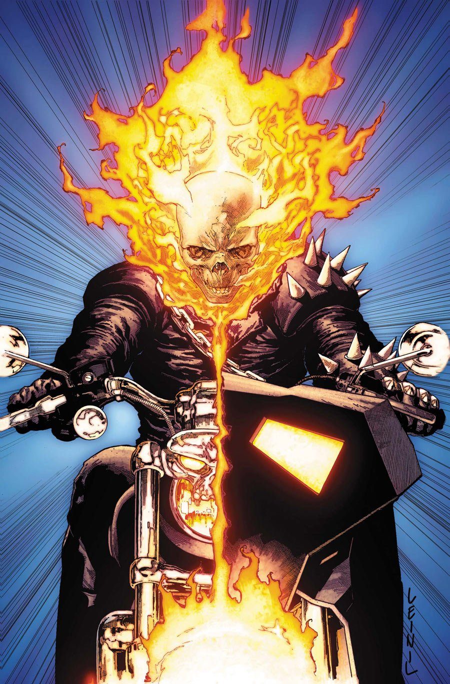 GeekMatic!: Five Things About Ghost Rider: The Spirit Of