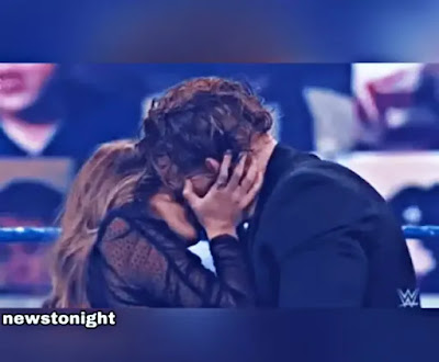 WWE SmackDown: Aalyah Kisses Buddy Murphy After ... - newstonight