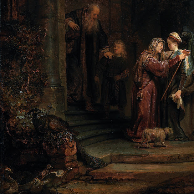 Visitation Painting Rembrandt