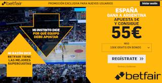Betfair Supercuota final mundobasket España gana a Argentina 15-9-2019