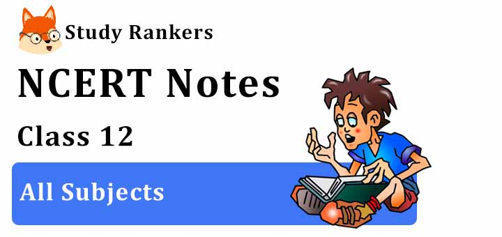 NCERT Revision Notes for Class 12
