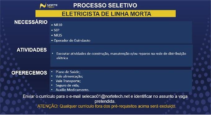 ELETRICISTA DE LINHA MORTA