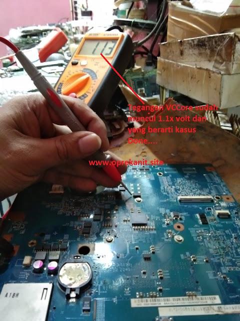 Analisa Perbaikan Laptop Acer