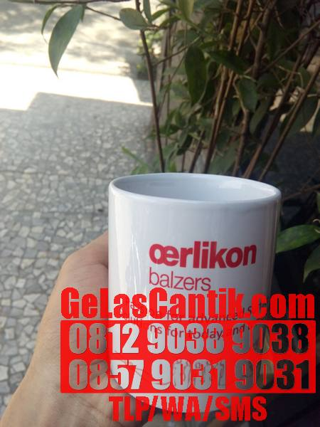 JUAL MUG PUTIH COATING
