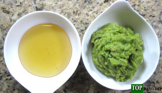Cách chữa tóc khô nhanh nhất bằng Quả Bơ và mật ong