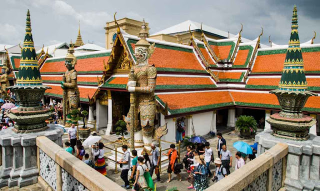 Entrada al Wat Phra Kaew