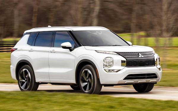 Novo Mitsubishi Outlander 2022: preços e consumo divulgados nos EUA
