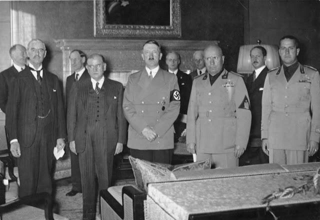 Tratado de no Agresión entre la Unión Soviética y Alemania. Munich-agreement