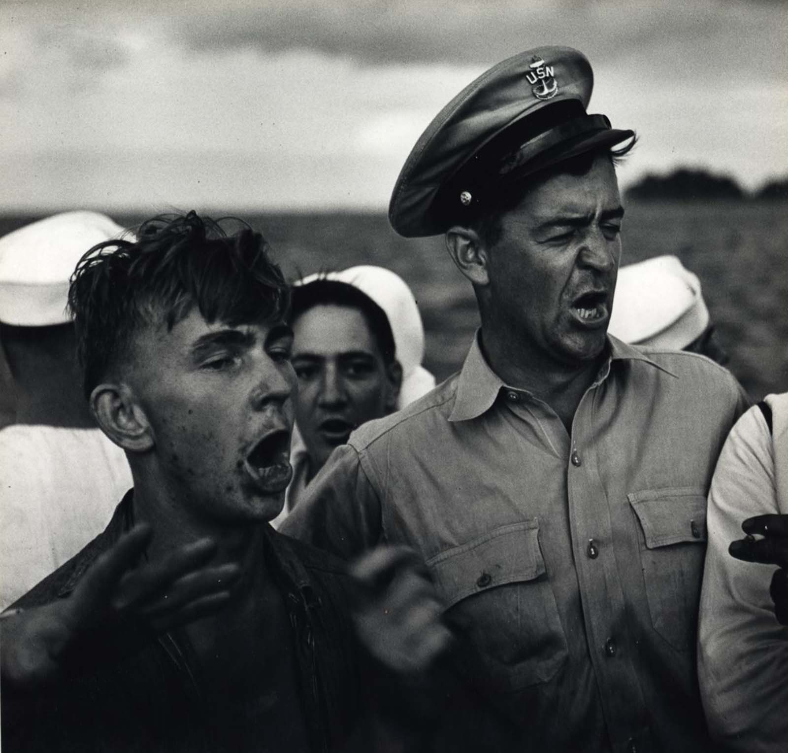 Too Much Beer, c. 1943.