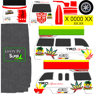 Download Livery Angkot Bob Marley