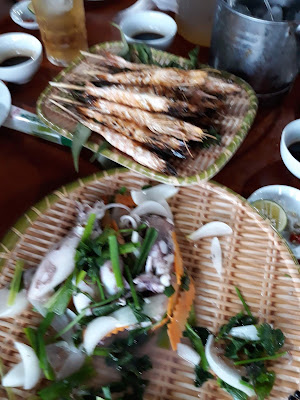 ナムディンの海鮮レストラン