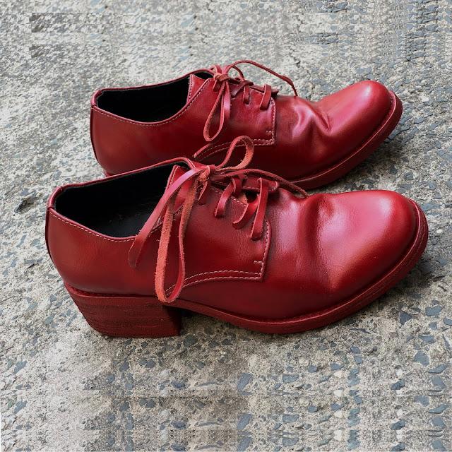 Giày Walker 301R - màu đỏ - Walker Boutique Vietnam