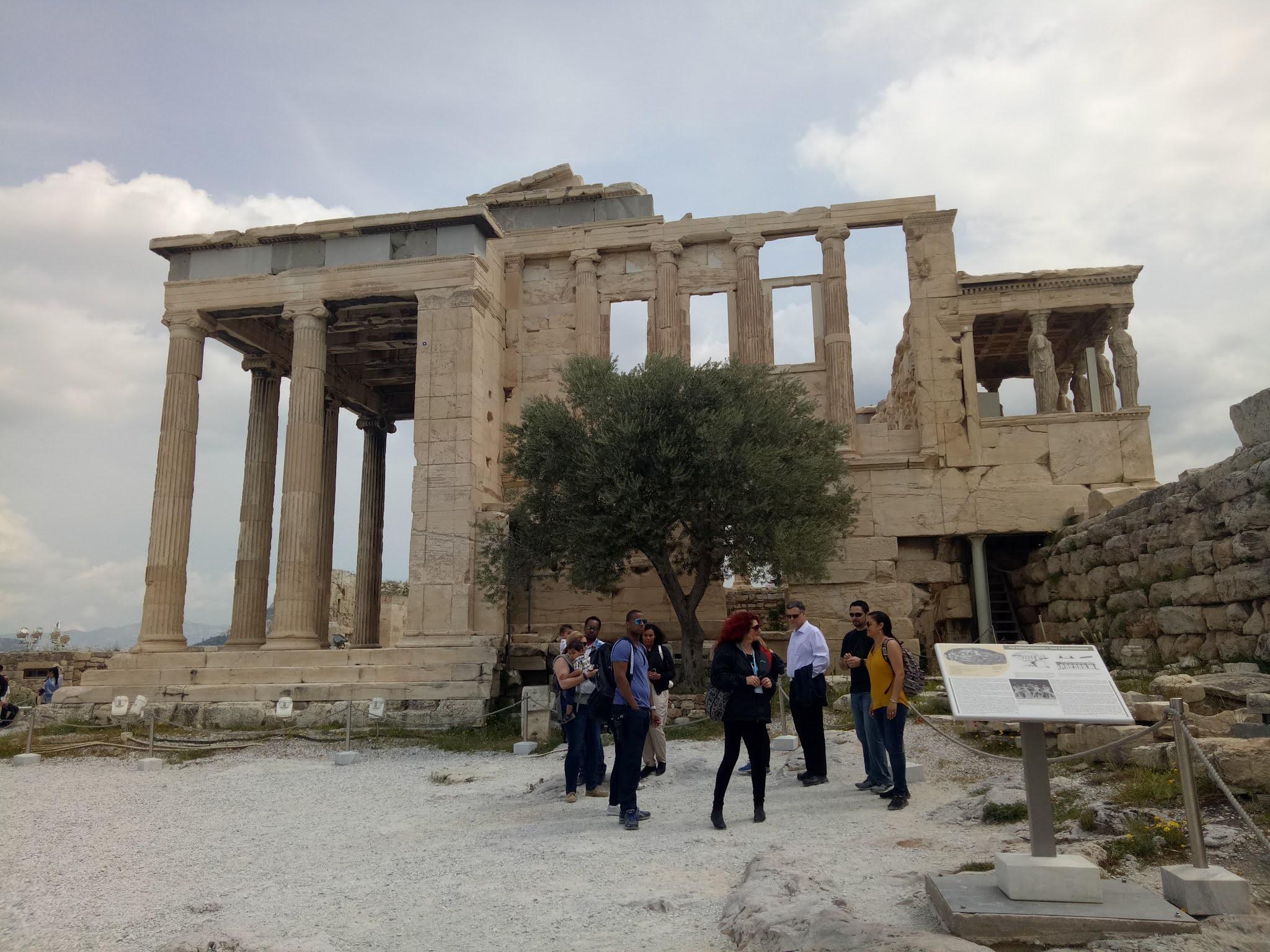 Travelog Greece, Athens: Acropolis The Erechtheion