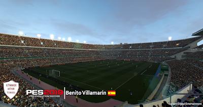 PES 2019 Stadium Benito Villamarín by Arthur Torres
