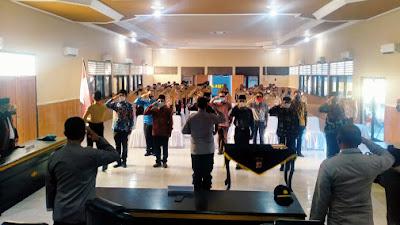 Kapolres Lombok Timur Kukuhkan Pengurus Komunitas Purna Saka Bhayangkara