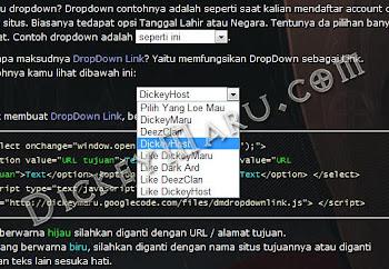 Dropdwon Link