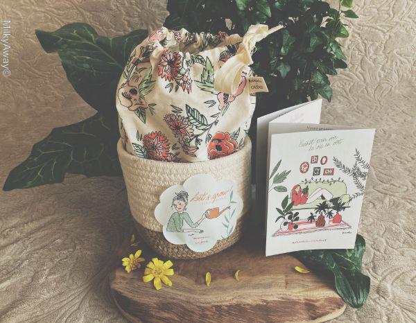 Belle Plante la box de mars par My Little Box X Caudalie