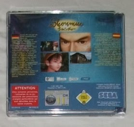 Shenmue - Caja plástico 2 detrás