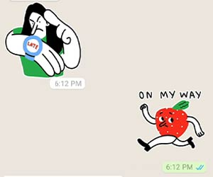 Stiker Gerak WhatsApp