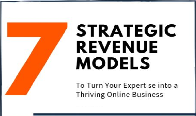 7 Strategic Revenue Models #infographic