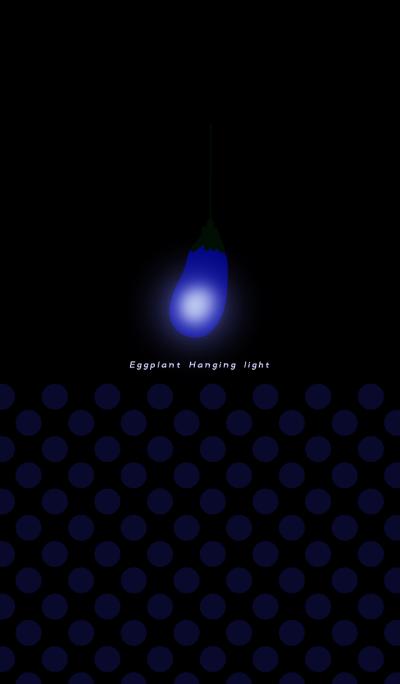 Eggplant Hanging light