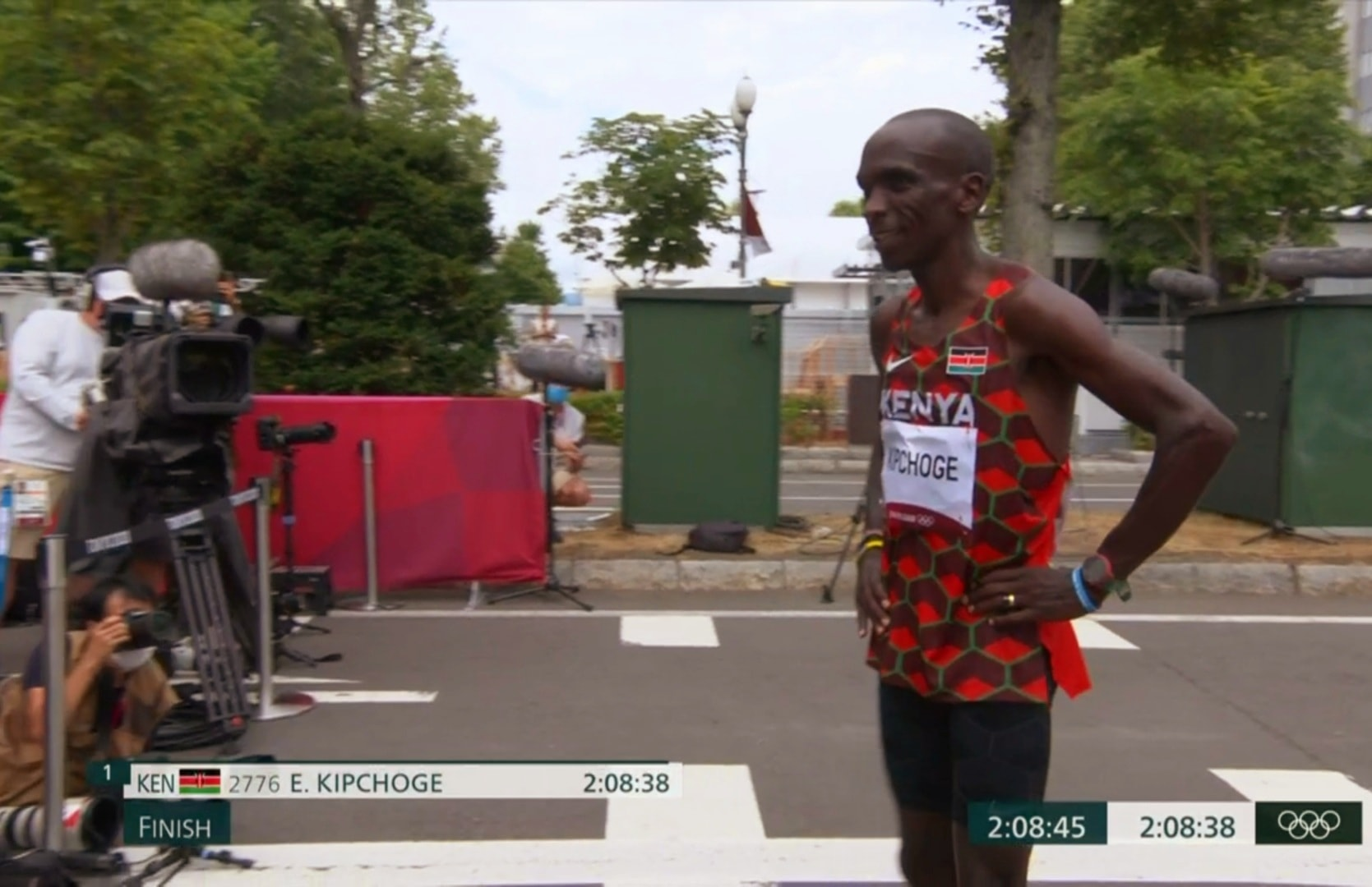 Eliud Kipchoge, Olympic Champion, Olympic Gold Medalist
