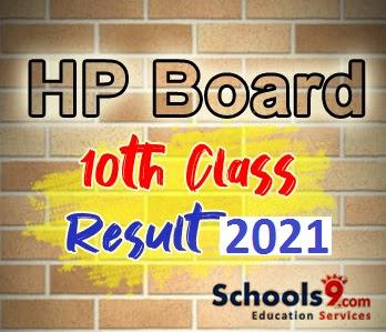 HP Board 10th Class Result 2021