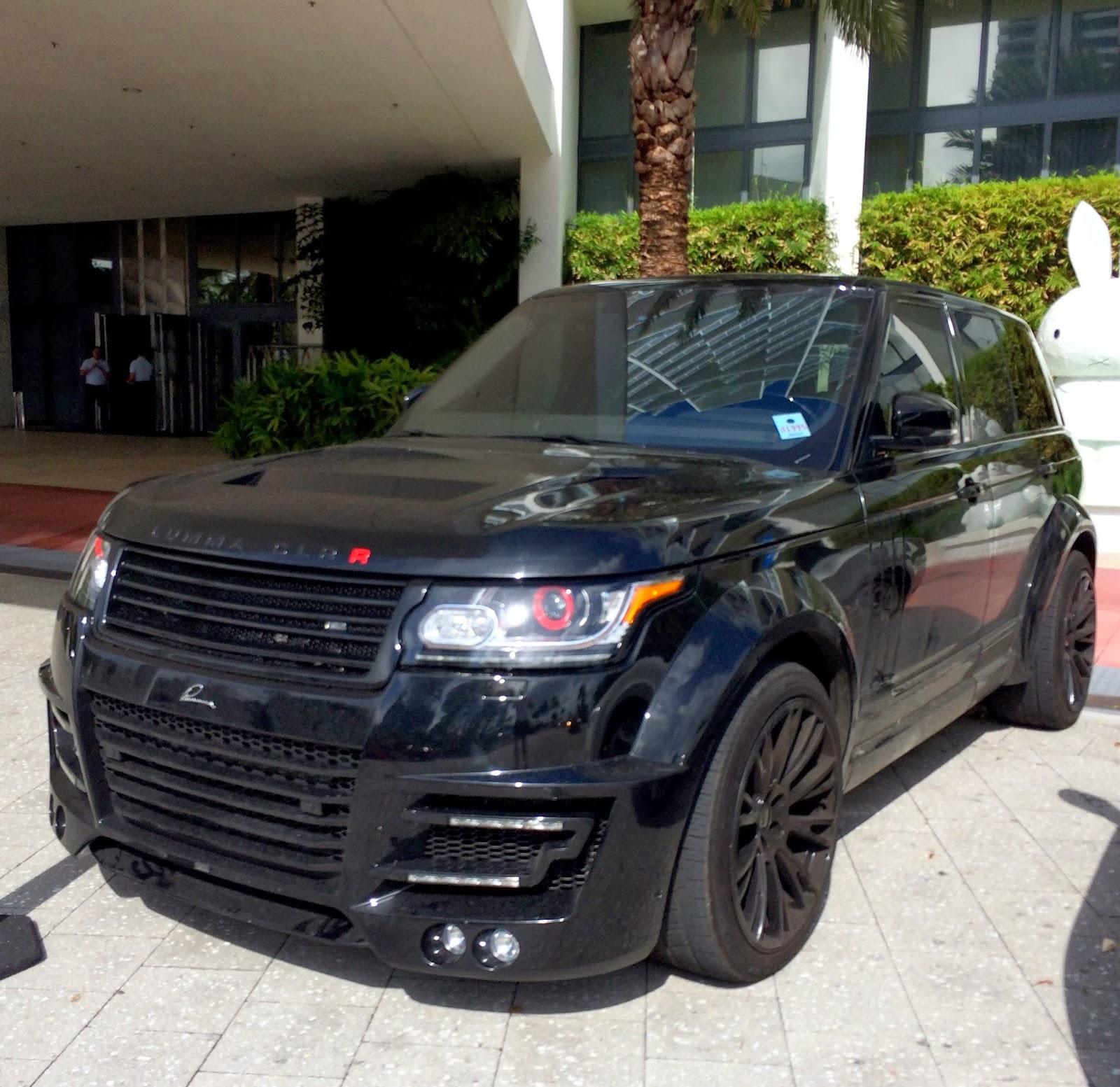 Range Rover Lumma Clr R Exotic Cars On The Streets Of Miami