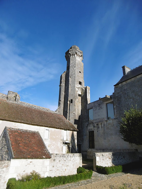17C tower, Chateau du Grand Pressigny. Indre et Loire. France. Photo by Loire Valley Time Travel.