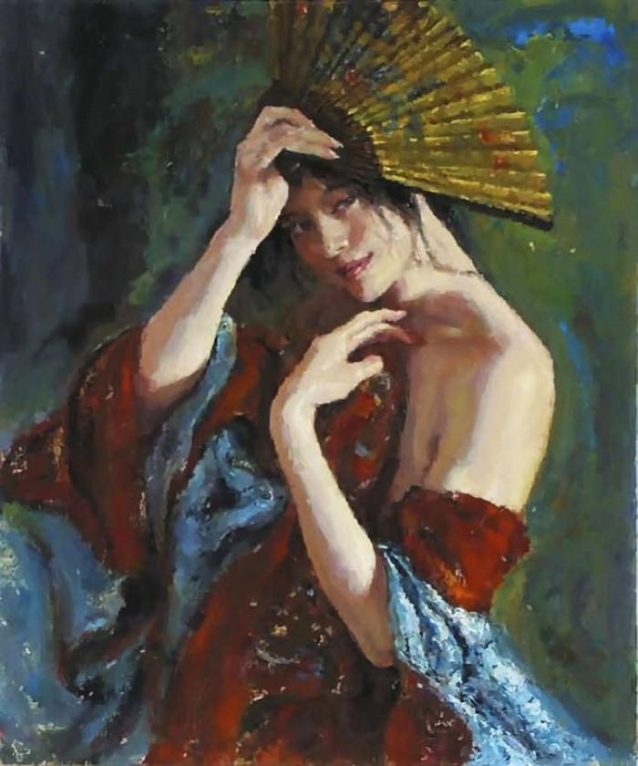 Работы в духе классического романтизма. George Tsui 11