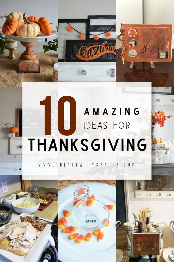 10 amazing ideas for Thanksgiving