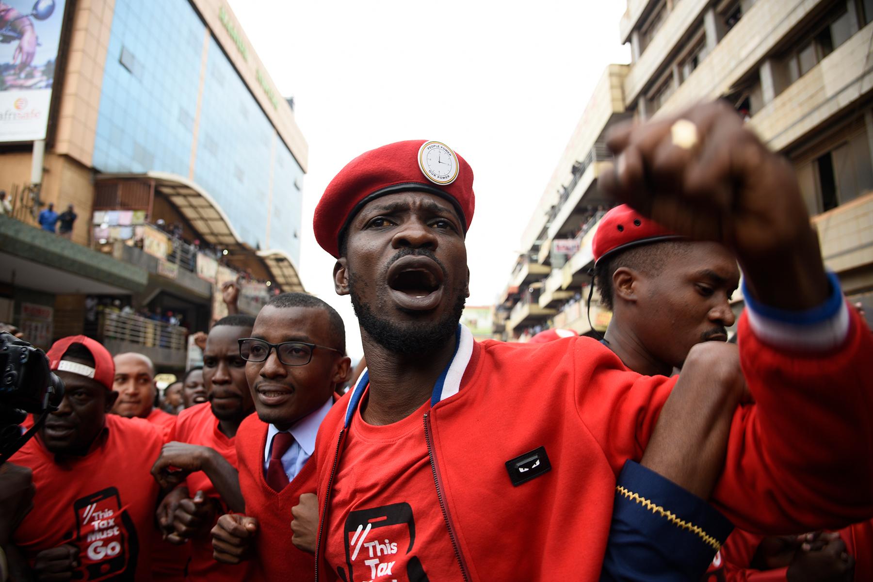Bobi Wine calls Ugandans to protest against Museveni | The Fast Observer