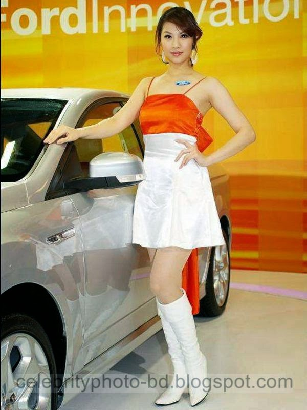 Sexy Auto Sales Promotion Girls Show Hot Photos 2014