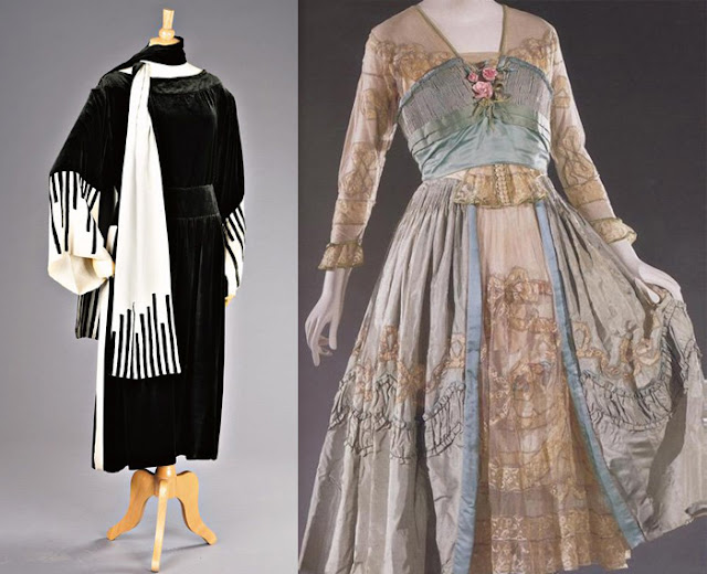 Rua e vestido de chá por Lucile