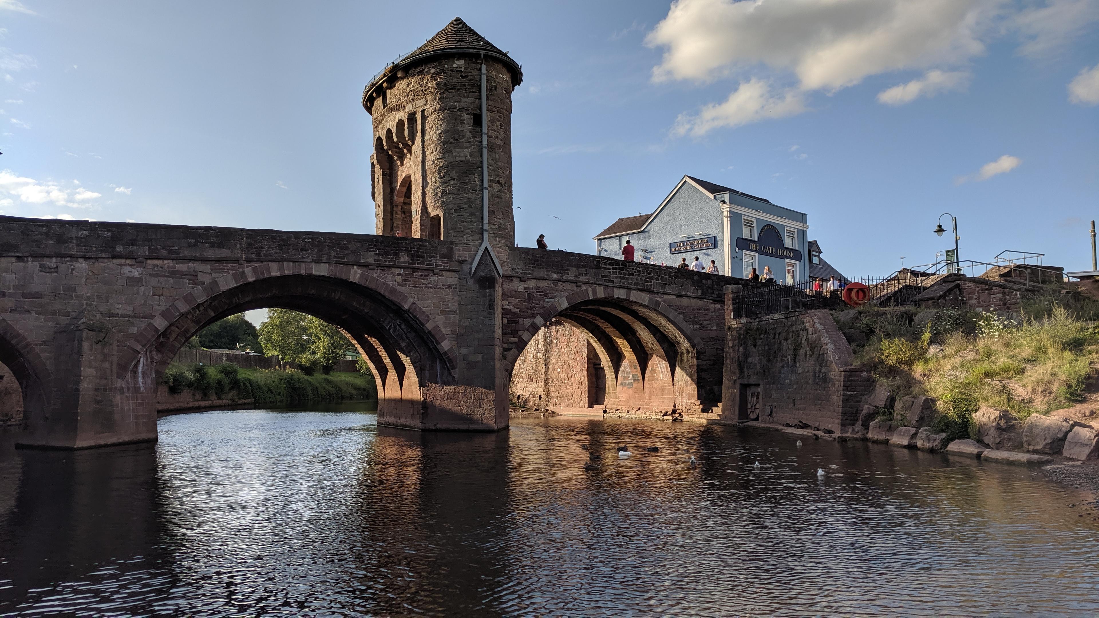 Monmouths Monnow Bridge, 2019