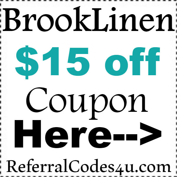 Brooklinen.com Referral Codes 2016-2017, Brooklinen Coupon Code September, October, November