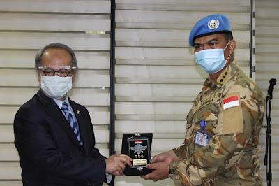 Duta Besar RI untuk Lebanon Bangga Terhadap Kinerja Satgas Kontingen Garuda UNIFIL