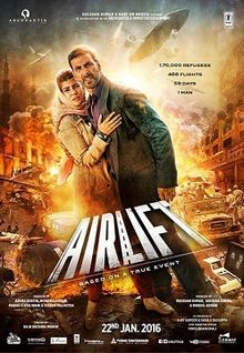 Airlift is Akshay Kumar (Akki real based story movie) 2nd Highest Grossing film of his career, Co-Actress Nimrat Kaur