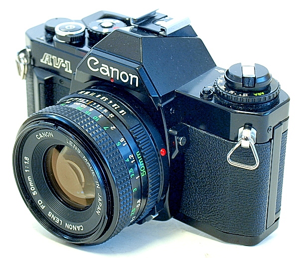 Canon AV-1 35mm SLR Film Camera