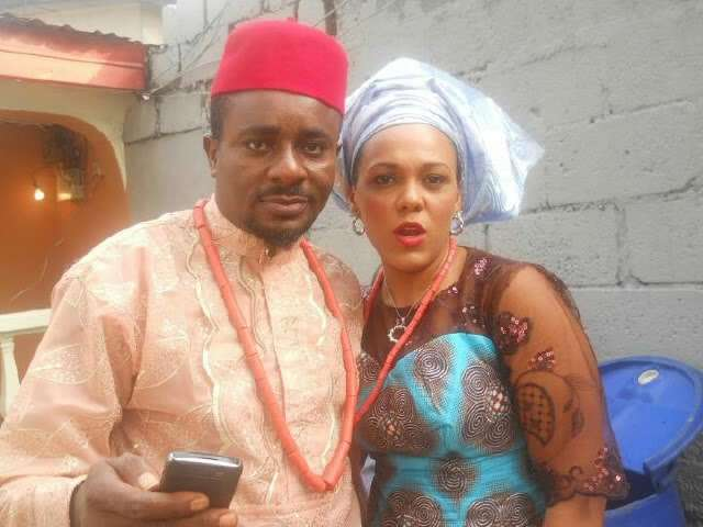 Emeka Ike and his wife, Suzanne Emma