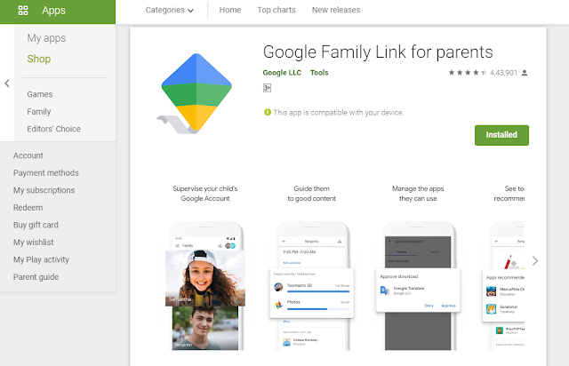Google Family Link - Setting Up the Devices