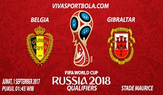 Prediksi Belgia vs Gibraltar 1 September 2017
