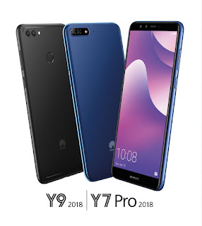 Huawei Y7 Pro and Y9 2018 price in Nepal