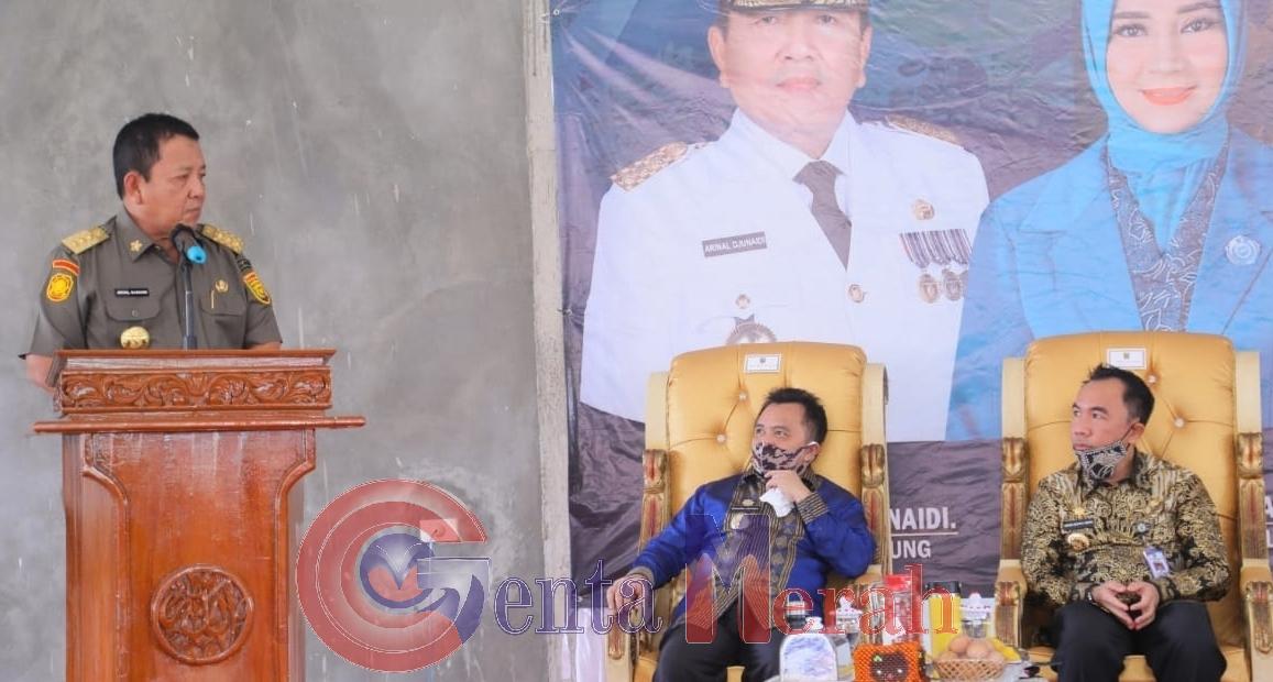 Kunjungi Waykanan, Gubernur Lampung Gelontorkan Berbagai Bantuan
