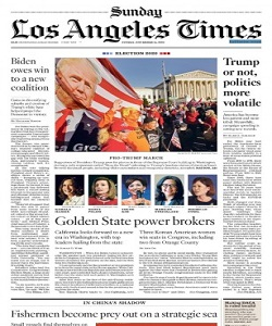 Los Angeles Times Magazine 15 November 2020 | Los Angeles News | Free PDF Download