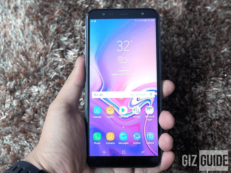 The Galaxy J6+ (2018)!