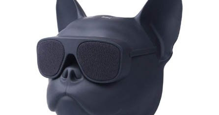 Elistooop Bluetooth Dog Head Speaker