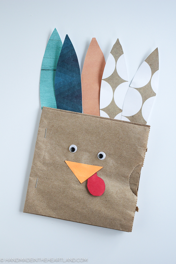 how to make an easy thanksgiving craft for kids